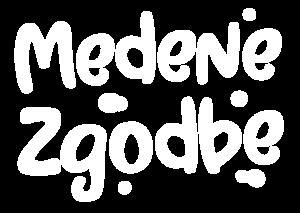 Medene Zgodbe Bel Logotip